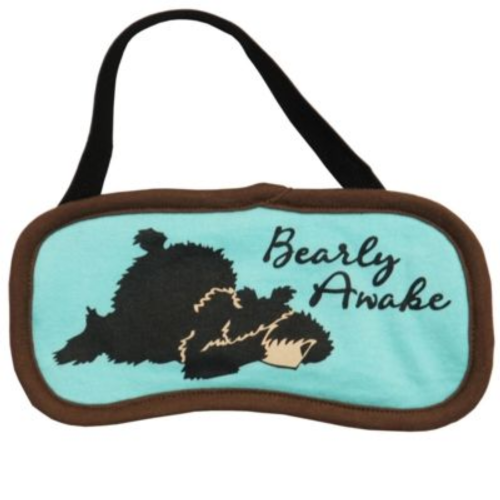 Bearly Awake Sleep Mask | LazyOne®